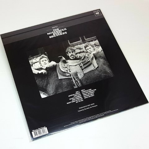 Vinil Lp The Byrds The Notorious Byrd Brothers 180g Lacrado