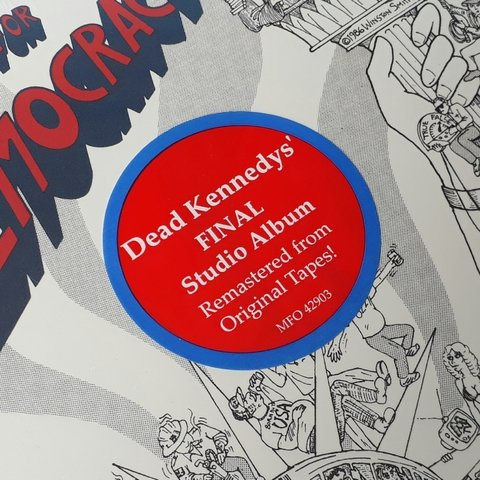 Vinil Lp Dead Kennedys Bedtime for Democracy Lacrado