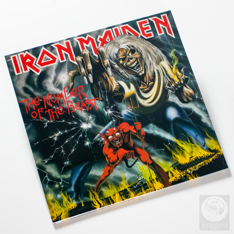 Vinil Lp Iron Maiden Number Of The Beast Lacrado
