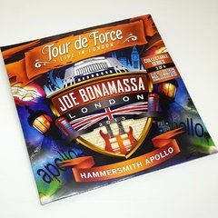 Vinil Lp Joe Bonamassa Tour Force Apollo 3LPs 180g Lacrado