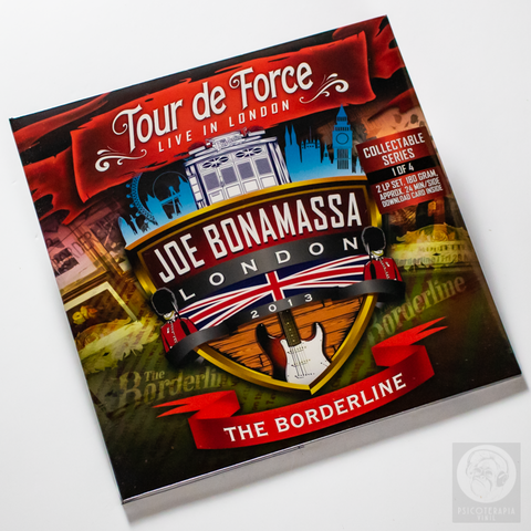 Vinil Lp Joe Bonamassa Tour Force Borderline 2LPs Lacrado