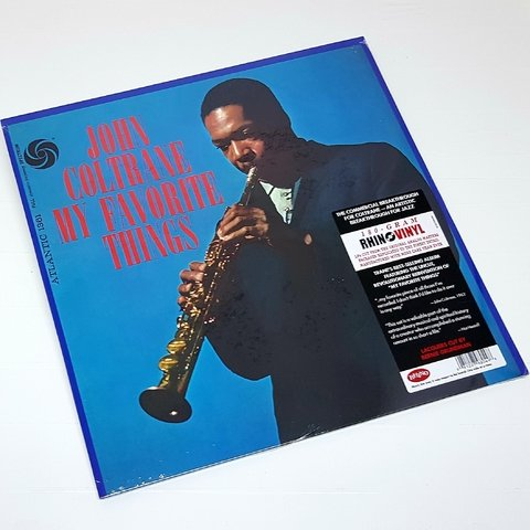 Vinil Lp John Coltrane My Favorite Things Rhino 180g Lacrado - comprar online