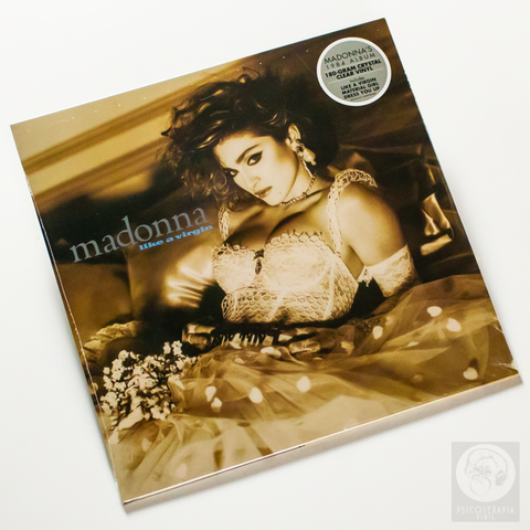 Vinil Lp Madonna Like A Virgin Transparente Lacrado