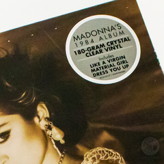 Vinil Lp Madonna Like A Virgin Transparente Lacrado na internet