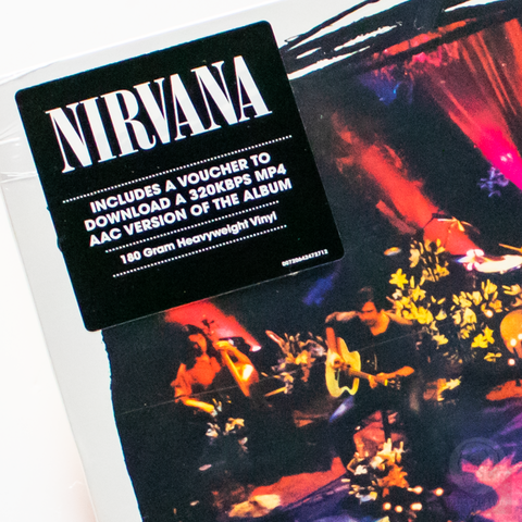 Vinil Lp Nirvana Unplugged In New York MTV Remast. Lacrado