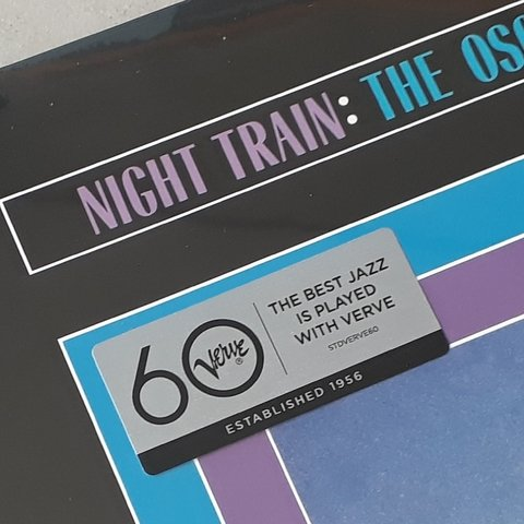 Vinil Lp Oscar Peterson Night Train 180g Verve Lacrado