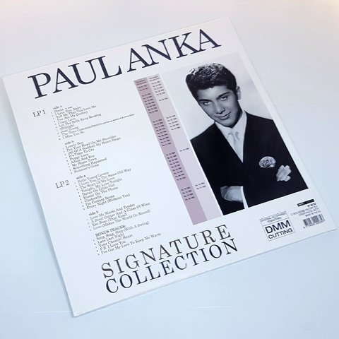 Vinil Lp Paul Anka ‎Signature Collection 2LPs Lacrado
