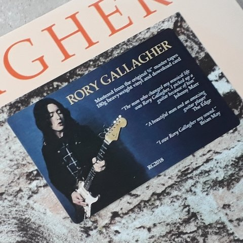 Vinil Lp Rory Gallagher Calling Card Remast. 180g Lacrado
