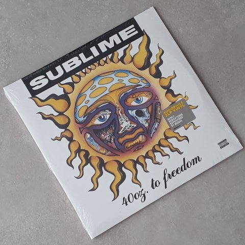 Vinil Lp Sublime 40oz to Freedom 2-LPs Lacrado