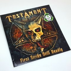 Vinil Lp Testament First Strike Still Deadly Lacrado