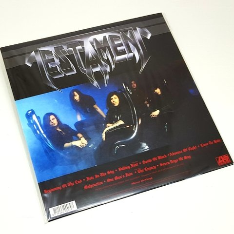 Vinil Lp Testament Souls Of Black 180g Lacrado