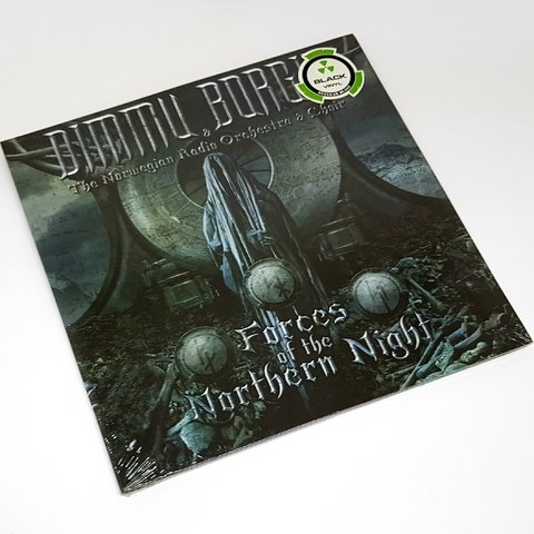 Vinil Lp Dimmu Borgir Forces of the Northern Night Lacrado