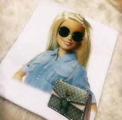 T-shirt Barbie Gucci inspire