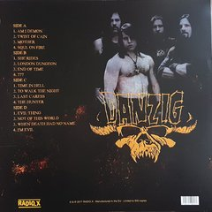 Danzig -   From Beyond: Live At The Palace, Hollywood July 7th, 1989 -  KNAC FM Broadcast LP - comprar online
