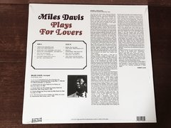 Miles Davis - Plays For Lovers LP - Anomalia Distro