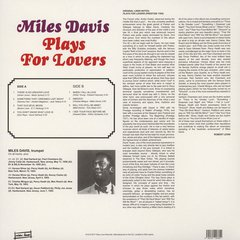 Miles Davis - Plays For Lovers LP - comprar online