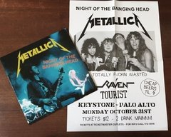 Metallica - Night Of The Banging Head 2xLP + Pôster - Anomalia Distro