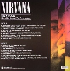 NIRVANA - On A Plain: Rare Radio & TV Broadcasts LP - comprar online