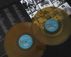 Oasis - Definitely Maybe LP Dourado na internet