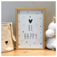 Cuadrito Infantil - Be Happy en internet