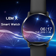 Imagem do Relógio Smartwatch DM19 Smart Watch Men 4G Andriod 7.1 8.0MP Câmera MTK6739 Quad Core 16GB Rom Fitness Tracker IP67 À Prova D 'Água Wifi GPS Smartwatch