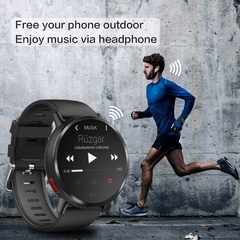 Relógio Smartwatch DM19 Smart Watch Men 4G Andriod 7.1 8.0MP Câmera MTK6739 Quad Core 16GB Rom Fitness Tracker IP67 À Prova D 'Água Wifi GPS Smartwatch