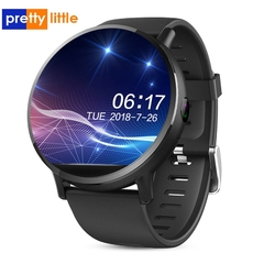 Relógio Smartwatch DM19 Smart Watch Men 4G Andriod 7.1 8.0MP Câmera MTK6739 Quad Core 16GB Rom Fitness Tracker IP67 À Prova D 'Água Wifi GPS Smartwatch na internet