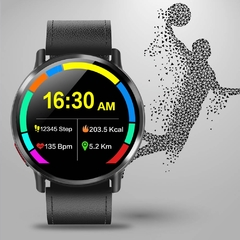 Relógio Smartwatch DM19 Smart Watch Men 4G Andriod 7.1 8.0MP Câmera MTK6739 Quad Core 16GB Rom Fitness Tracker IP67 À Prova D 'Água Wifi GPS Smartwatch - ElaShopp.com