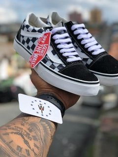VANS OLD SKOOL CHEX SKATE