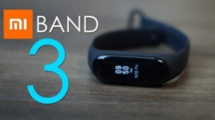 RELÓGIO XIAOMI MI BAND 3 SMART WATCH PARA ANDROID IOS - PRETO - comprar online