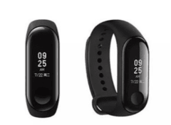 RELÓGIO XIAOMI MI BAND 3 SMART WATCH PARA ANDROID IOS - PRETO na internet