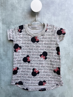 Vestido/Camiseta Long - Minnie Mouse