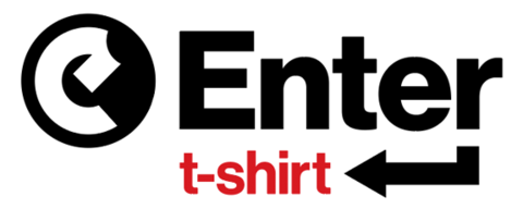 Enter camiseta de gente criativa