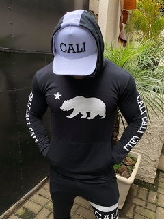 Moletom Cali Black - Califorstyle