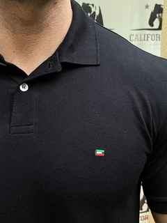 Polo Enzo Milano Black - Califorstyle