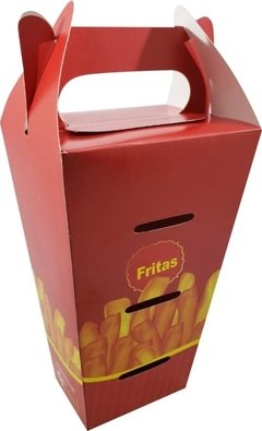 1000 pçs Embalagem Batata Delivery M (aprox 400g)