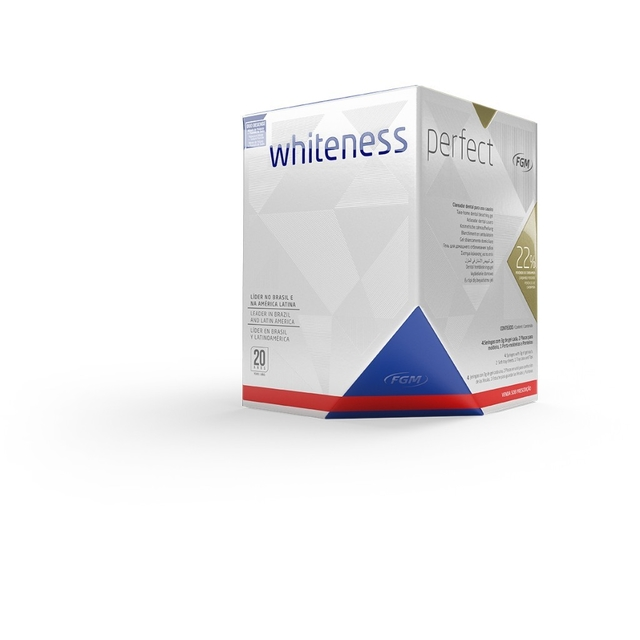 Clareador Whiteness Perfect 22% Kit | FGM - comprar online