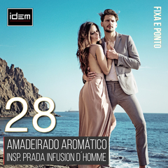 Perfume Masculino IDEM 28 - Insp. Infusion D´Homme Prada
