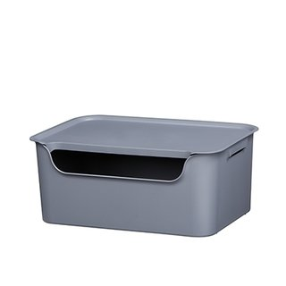 Contenedor LIVING BOX 271156 mediano grafito