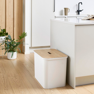 Smart Store Collect White Contenedor / taburete 76 L  3066010