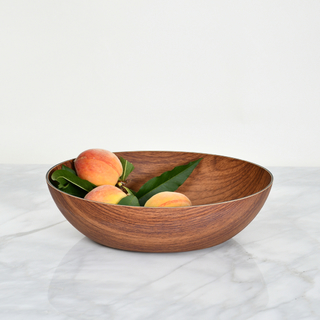 Bowl Oval Simil Madera M508021 - comprar online