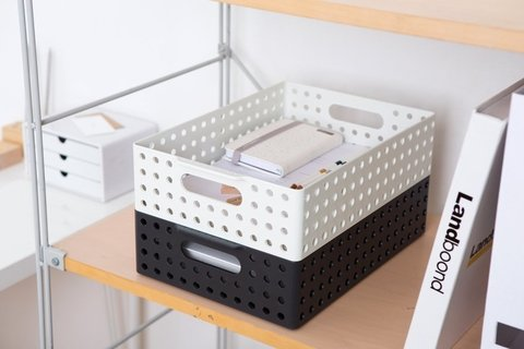 Contenedor MYROOM BASKET S&S 270899 marfil size 1 - ORGANIZZA