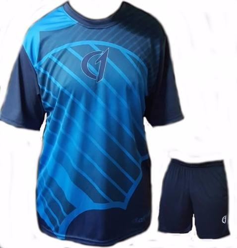 Conjunto Remera Short Bermuda Dry Fit Tenis Paddle Class One Modelo 5