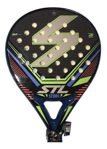 Paleta Padel Paddle Steel Custom Storm + Regalos!