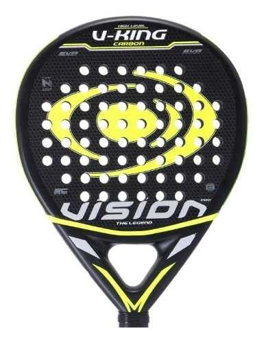 Paleta Padel Paddle Vision V-king + Funda + Grip + Prot