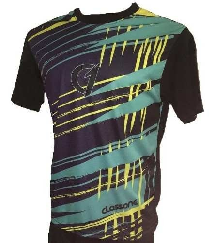Remera Sublimada Class One Dry Fit Tenis Padel Modelo 1
