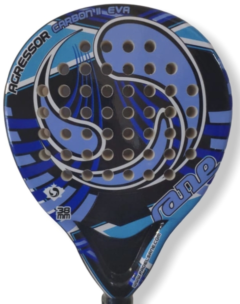 Paleta Paddle Padel Sane Agressor Carbon + Regalos!