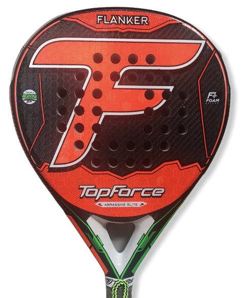 Paleta Padel Top Force Flanker Elite Carbon