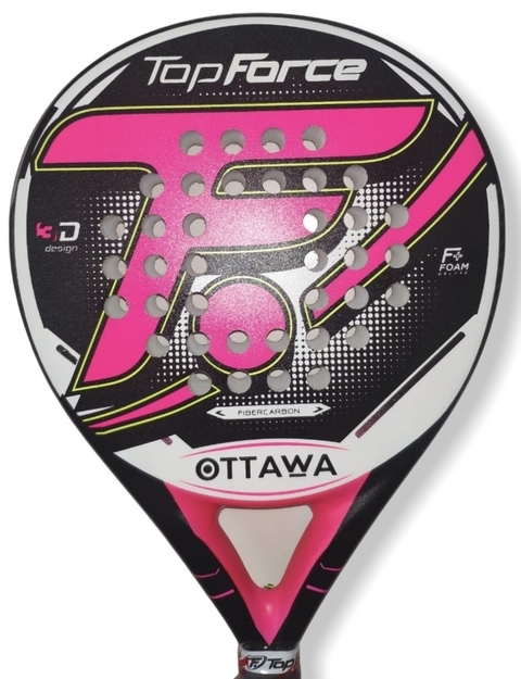 Paleta Padel Top Force Ottawa Carbono Woman