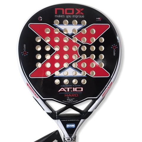 Paleta Padel Paddle Nox AT 10 Hard Grip + Protector